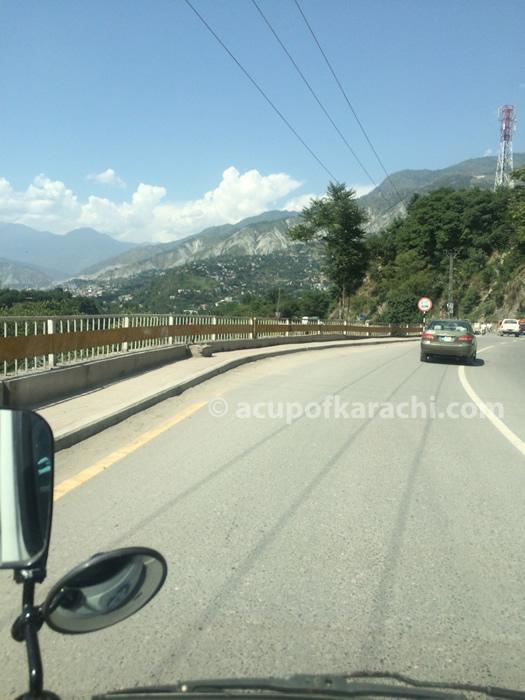 Entering Muzafarabad