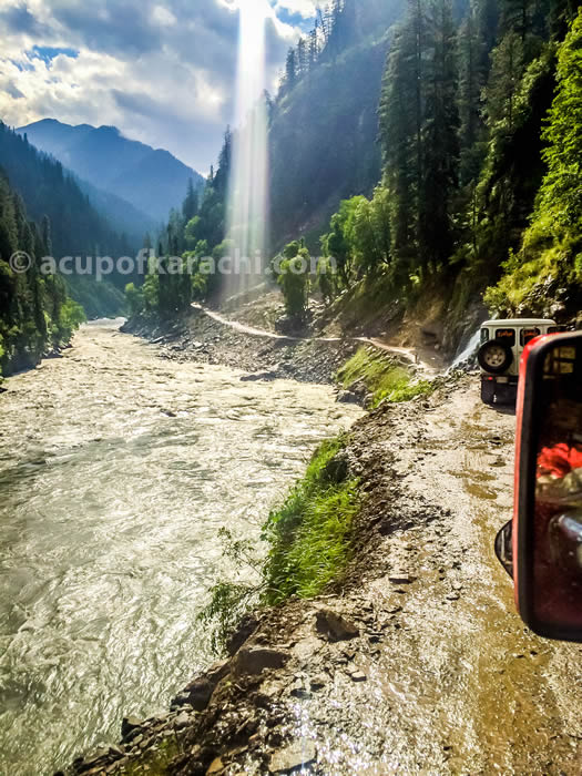 On the way to Tao Butt Neelam Valley