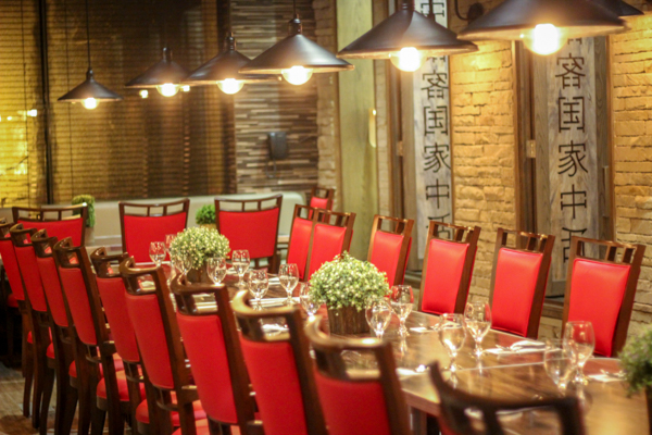 A separate conference room at Hakka Chine